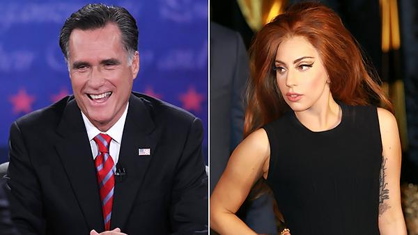 Lady Gaga: Mitt Romney 'Surprisingly Weak' in Final Debate