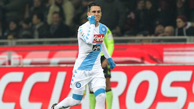 Callejon credits 'Maradona effect' as Napoli down Milan