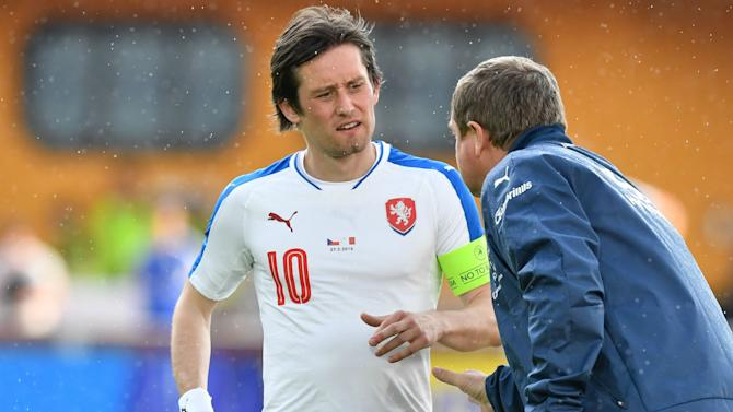 Rosicky included in final Czech Republic squad for Euro 2016