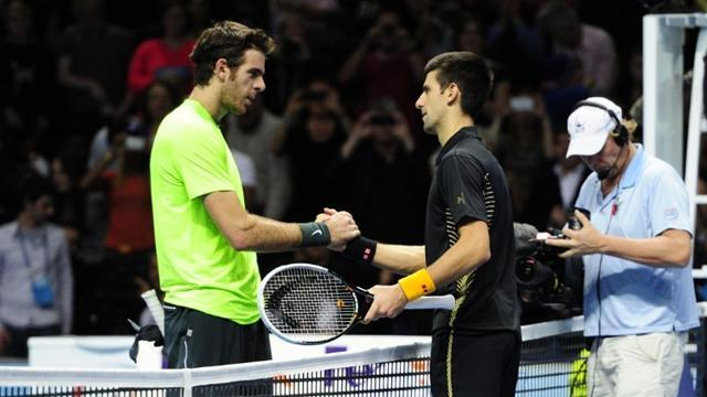 ATP World Tour Finals - Del Potro targets big four in 2013