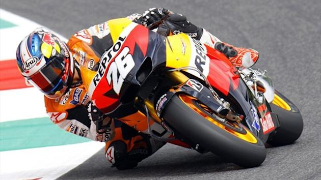 Dani Pedrosa at the Italian Grand Prix