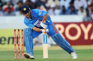 Dhoni, Raina and Jadeja gave India a huge boost in the last 15 overs.