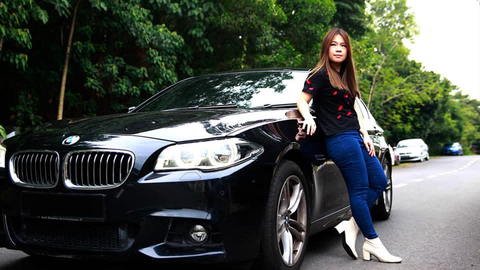 【明星聊愛車】符瓊音選擇BMW 528i 山路超車險釀嚴重車禍生死一瞬!