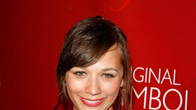 Rashida Jones arrives to the Frederick's of Hollywood 2008 Spring Collection Fashion Show To Benefit Clothes off our Backs.