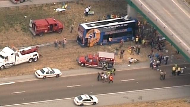 Megabus Crash in Illinois: At Least 1 Dead, 30+ Injured