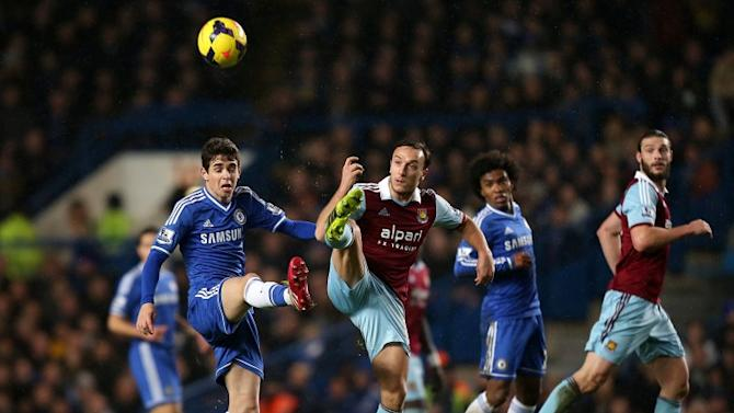 Chelsea are held to scoreless draw by West Ham at Stamford Bridge