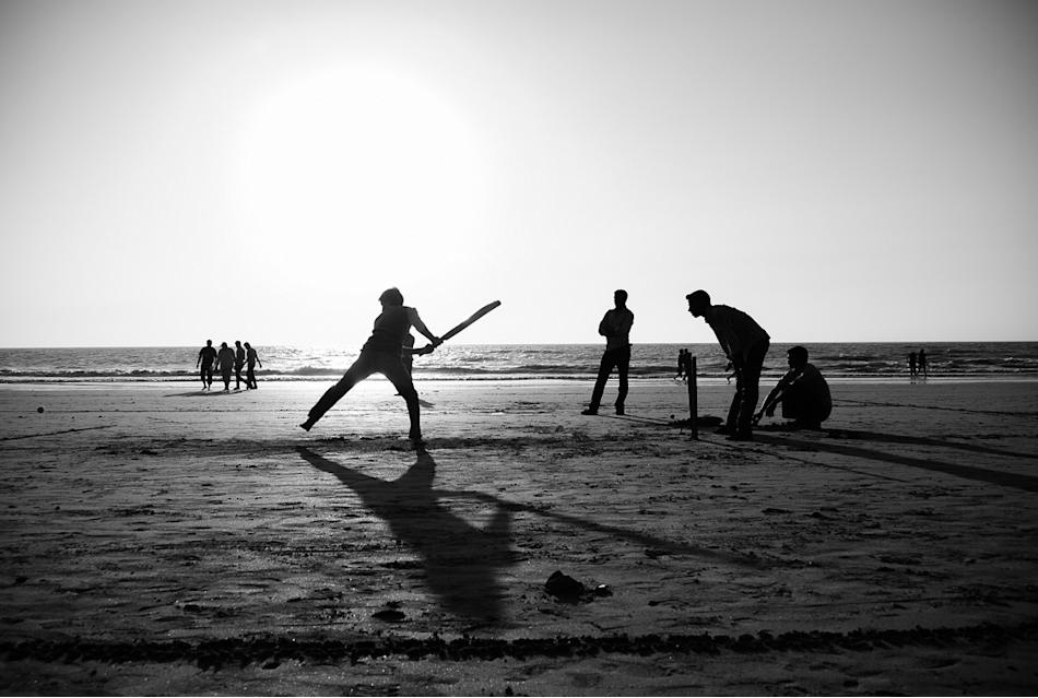 Beach cricket, by Ganesh Shankar [SCPC5]