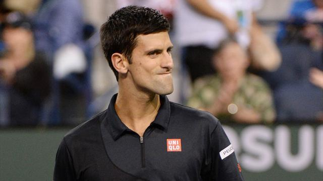 Tennis - Djokovic advances, Tsonga, Ward crash out