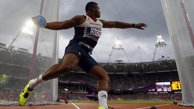 Okoye opts for discus over NFL