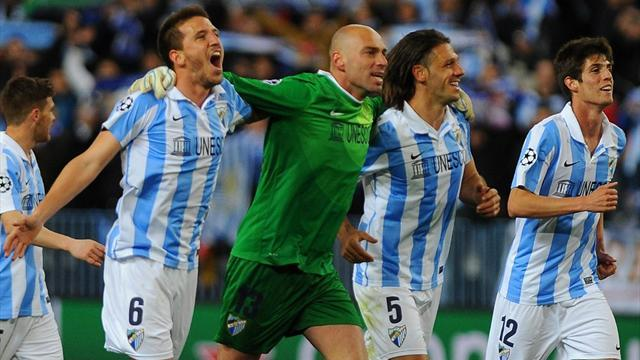 Champions League - Malaga upbeat over appeal against UEFA ban