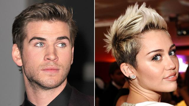 Liam Hemsworth, Miley Cyrus Worlds Apart