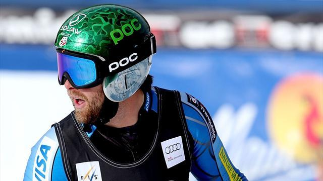 Alpine Skiing - Ganong tops Beaver Creek timesheets