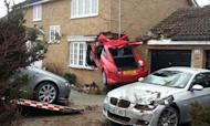 Man Injured As Car Ploughs Into House