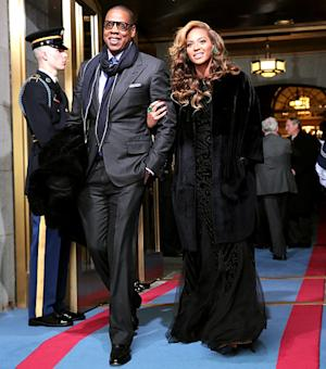 Beyonce Makes Stunning Entrance With Jay-Z at Presidential Inauguration