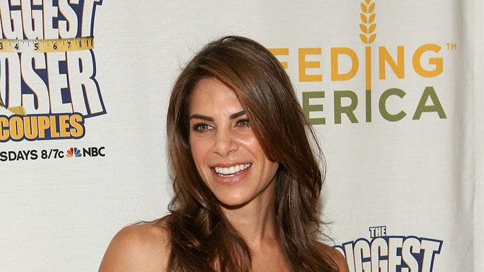 Jillian Michaels arrives at Feeding America's Pound for Pound Challenge Wrap Party at the Sunset Tower Hotel on May 5, 2009 in West Hollywood, California.