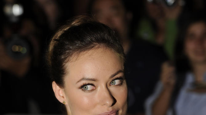 "Actress Olivia Wilde attends the gala screening for the film ""Butter "" during the Toronto International Film Festival on Tuesday, Sept. 13, 2011 in Toronto. (AP Photo/Evan Agostini)"