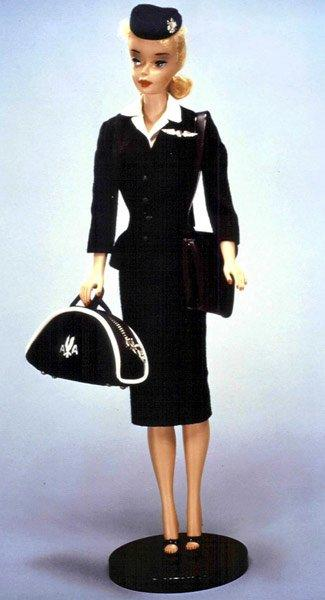 Stewardess Barbie (1961)