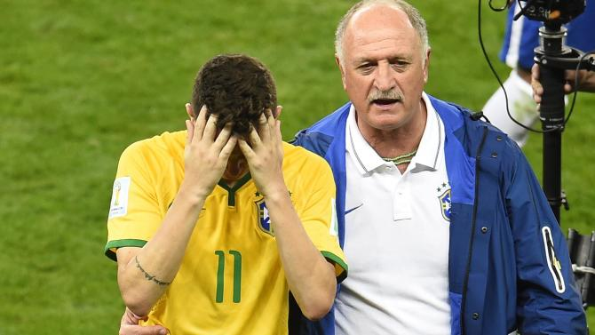 World Cup - Life goes on, says Scolari after Brazil debacle