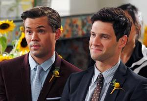 Andrew Rannells, Justin Bartha | Photo Credits: Trae Patton/NBC