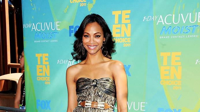 Zoe Saldana Teen Choice Awards