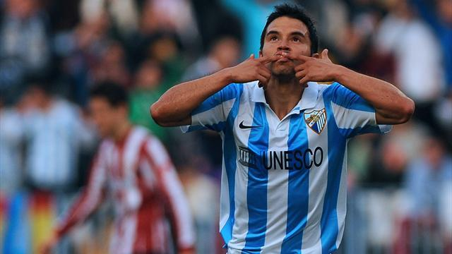 Liga - Saviola gives Malaga win over Bilbao