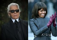 Karl Lagerfeld : Michelle Obama ressemble à une speakerine de LCI