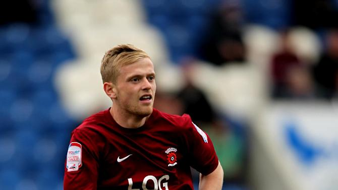 Ryan Noble has made eight appearances for Hartlepool, scoring once