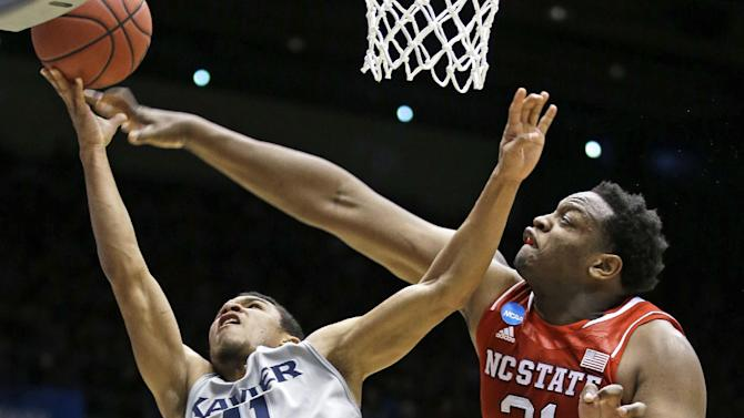 N.C. State beats Xavier 74-59 in NCAA First Four