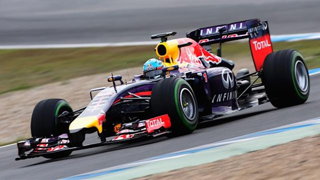 2014 Tests Jerez Red Bull Vettel