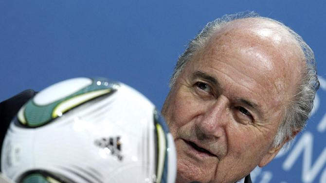 Blatter: French, German presidents tried influence WCup vote