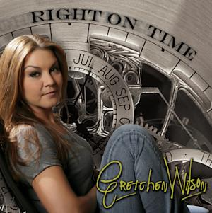 "This CD cover image released by Redneck Records shows ""Right on Time,"" by Gretchen Wilson. (AP Photo/Redneck)"