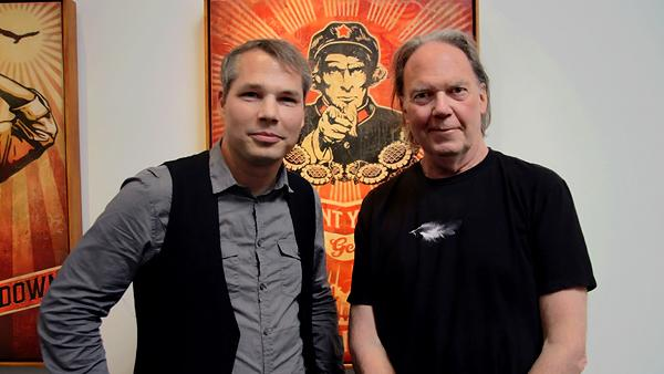 Neil Young Enlists Shepard Fairey for 'Americana' Visuals