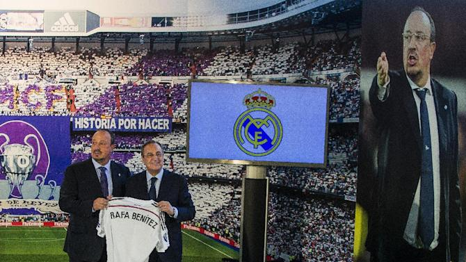 Real Madrid hires Rafa Benitez as coach to replace Ancelotti
