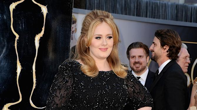 Adele at Oscars