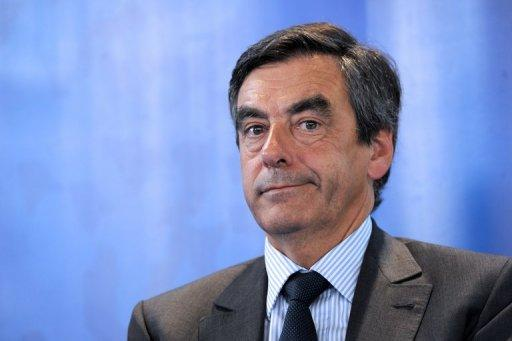 Former French premier Francois Fillon during a leadership campaign meeting for the Union for a Popular Movement (UMP) in June 2012. Fillon's supporters have demanded a recount after a venomous leadership battle for the right-wing opposition party, saying he was the rightful winner.