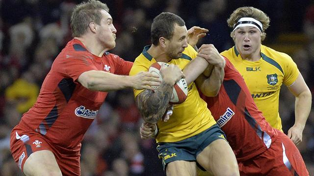 Rugby - Entertaining Australia hold off Wales