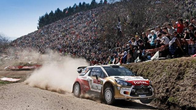 Germany Rally - Sordo leads as fatal crash curtails day