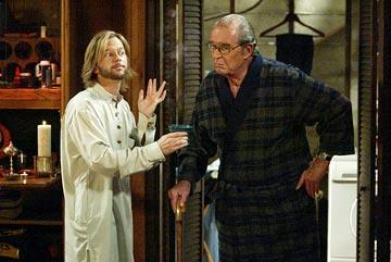 "David Spade and James Garner ABC's ""8 Simple Rules"" 8 Simple Rules"