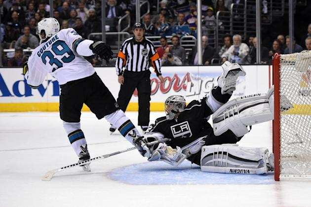 Sharks confident with chance to sweep LA Kings