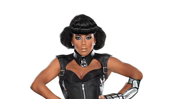 "Kenya Michaels competes in Season 4 of ""RuPaul's Drag Race."""
