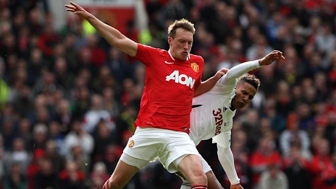 Phil Jones (left)