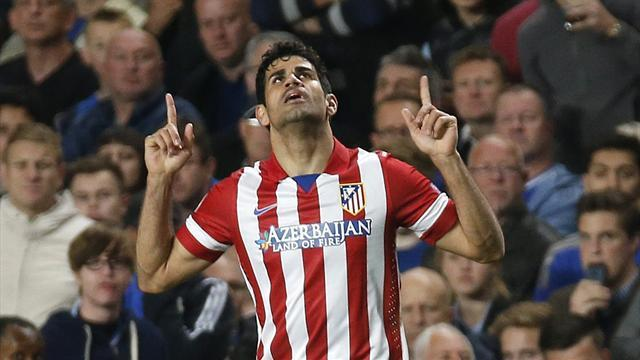 Liga - Simeone: Costa fit to start at Barca