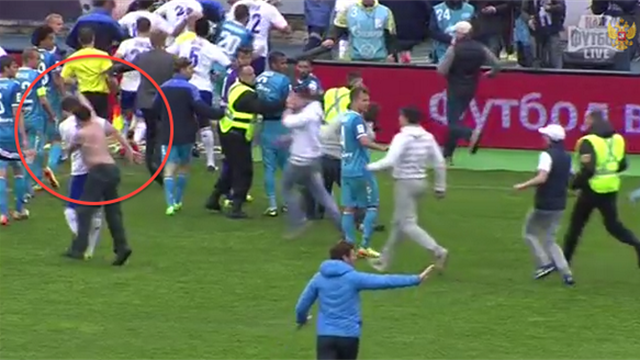 European Football - Zenit fan who punched Dynamo Moscow player arrested