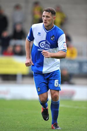 Tom Parkes sustained a suspected broken ankle against Port Vale