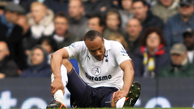Younes Kaboul could be on the sidelines until December