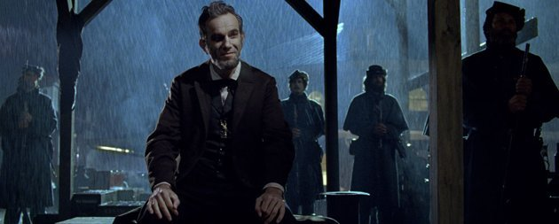Daniel Day-Lewis as U.S. President Abraham Lincoln in 'Lincoln'