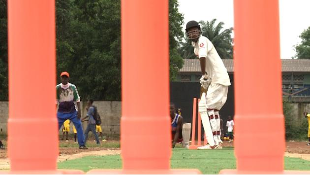 From ashes of war, S. Leone bats for cricket glory