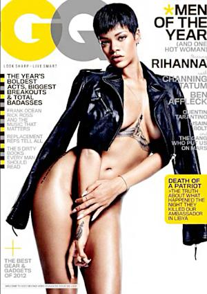 """PICTURE: Rihanna Poses Nude on GQ's """"Men of the Year"""" Issue"""