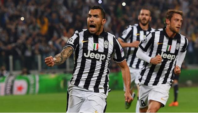 Champions League: Carlos Tevez inspires Juventus to first leg win over Real Madrid