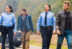Natalie Martinez, Colin Ford, Jeff Fahey, Mike Vogel | Photo Credits: Michael Tackett/CBS